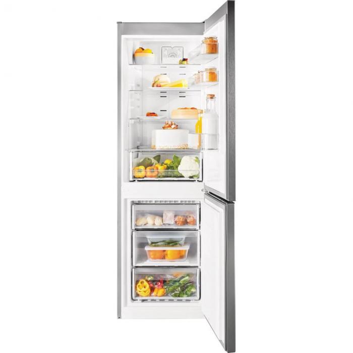Combina frigorifica Indesit XIT8 T1E X, 320 l, Clasa A+, No Frost, H 189 cm, Inox 1