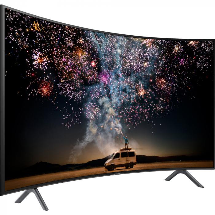 Televizor curbat, Smart LED, Samsung 55RU7302, 138 cm, Ultra HD 4K 1