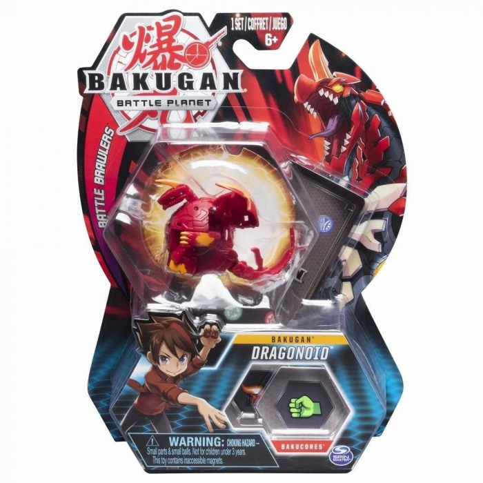 Figurina Bakugan Battle Planet, Dragonoid, Red 0