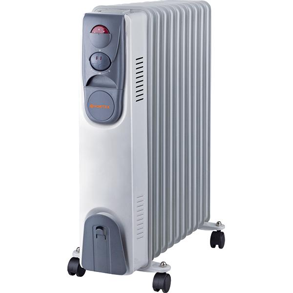 Calorifer electric Vortex YLA0611, 2000 W, 11 elementi, 3 trepte de putere, Termostat, Indicator luminos, Protectie supra-incalzire [0]