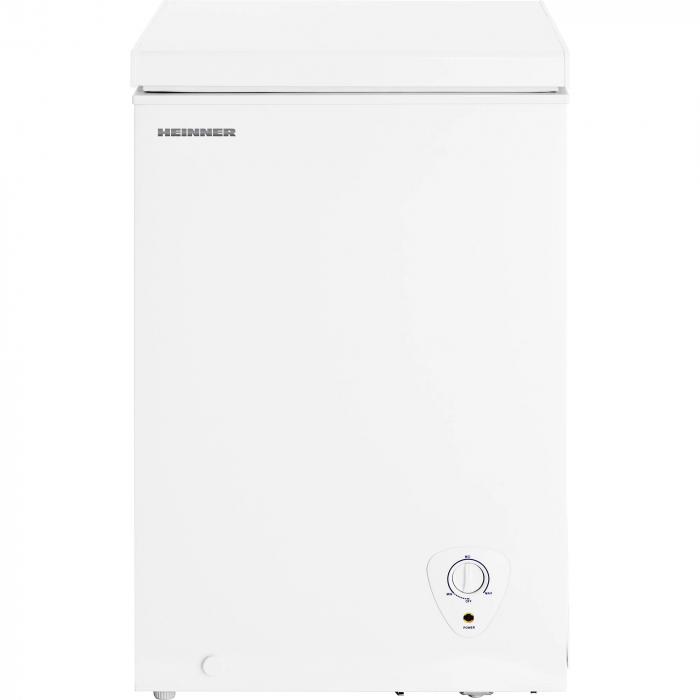 Lada frigorifica Heinner HCF-H98A+, 95 l, Control mecanic, Clasa A+, Alb 1