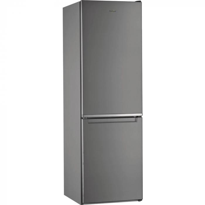 Combina frigorifica Whirlpool W9 821C OX, 318 l, Clasa A++, Dual No Frost, 6th Sense, Display Electronic Interior, H 189 cm, Inox 0