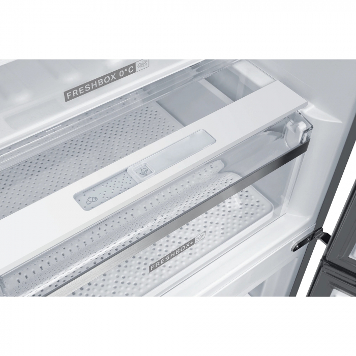 Combina frigorifica Whirlpool W9 821C OX, 318 l, Clasa A++, Dual No Frost, 6th Sense, Display Electronic Interior, H 189 cm, Inox 3