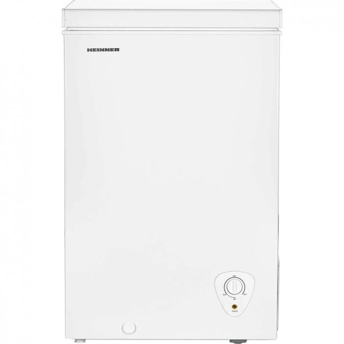 Lada frigorifica Heinner HCF-H98A+, 95 l, Control mecanic, Clasa A+, Alb 0