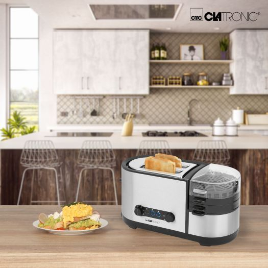 Set mic dejun TAM3688 Clatronic, Toaster + prajitor oua [2]