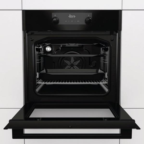 Cuptor incorporabil Gorenje BO735E20BG-M, Clasa energetica A, Gama Essential, Negru mat 1