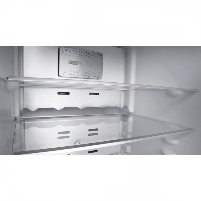 Combina frigorifica Whirlpool W9 821C OX, 318 l, Clasa A++, Dual No Frost, 6th Sense, Display Electronic Interior, H 189 cm, Inox [5]