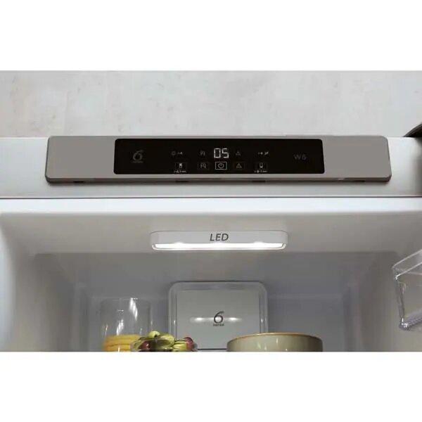 Combina frigorifica WHIRLPOOL W5 921C OX H, Direct Cool, 371 l, 201.1 cm, A+, inox 4