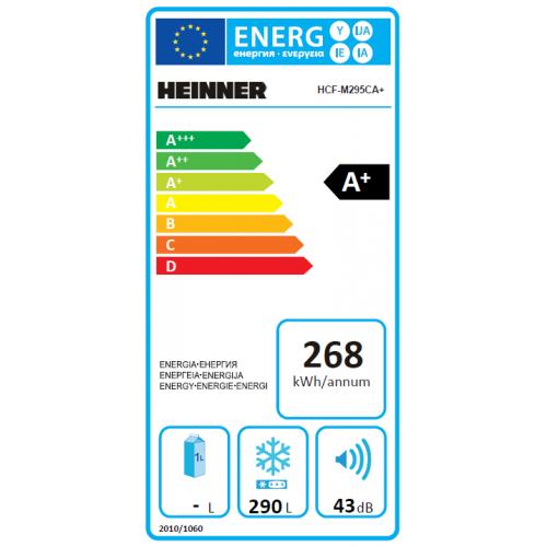 Lada frigorifica Heinner HCF-M295CA+, 290L, Clasa A+ 2