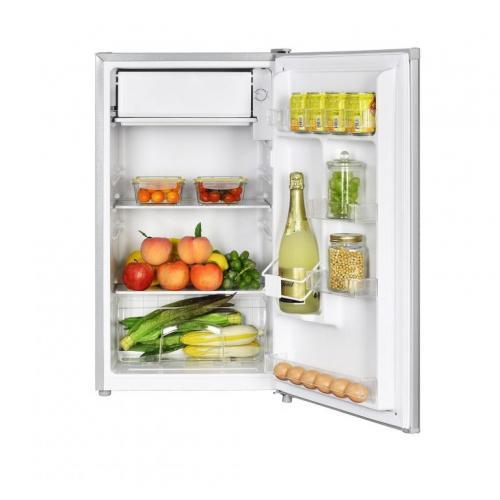 Frigider cu o usa Heinner HF-N91SA+, 91 l, Clasa A+, Iluminare LED, Compartiment legume & fructe, Inox 1