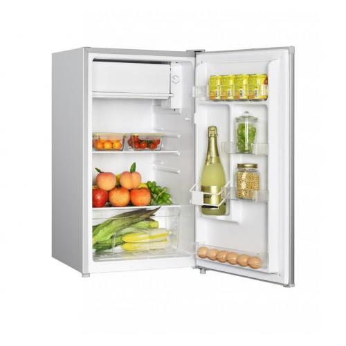 Frigider cu o usa Heinner HF-N91SA+, 91 l, Clasa A+, Iluminare LED, Compartiment legume & fructe, Inox 2