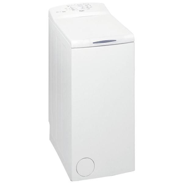 Masina de spalat rufe cu incarcare verticala Whirlpool AWE 55208, 5.5 kg, 800 RPM, Display LED, Clasa A+, Alb