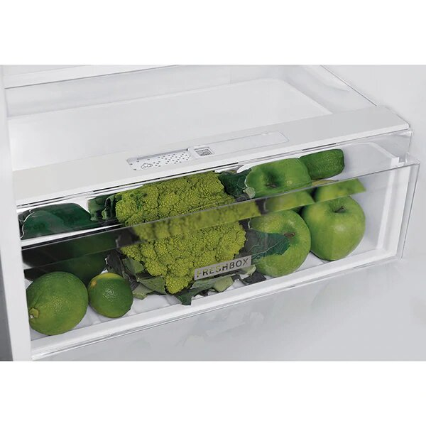 Combina frigorifica WHIRLPOOL W5 921C OX H, Direct Cool, 371 l, 201.1 cm, A+, inox 2