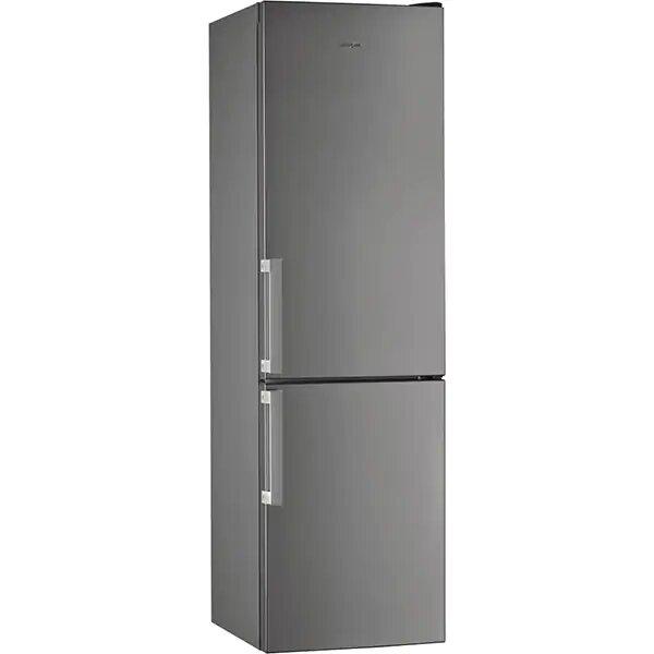 Combina frigorifica WHIRLPOOL W5 921C OX H, Direct Cool, 371 l, 201.1 cm, A+, inox 0