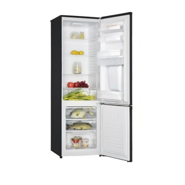 Combina frigorifica Heinner HC-H273BKWD+, 267 l, Dozator de apa, Clasa A+, H 176 cm, Negru 1