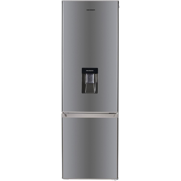 Combina frigorifica Heinner HC-H273XWD+, 267 l, Dozator de apa, Clasa A+, H 176 cm, Inox 0