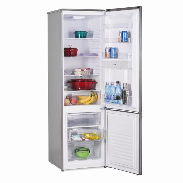 Combina frigorifica Heinner HC-H273XWD+, 267 l, Dozator de apa, Clasa A+, H 176 cm, Inox 1