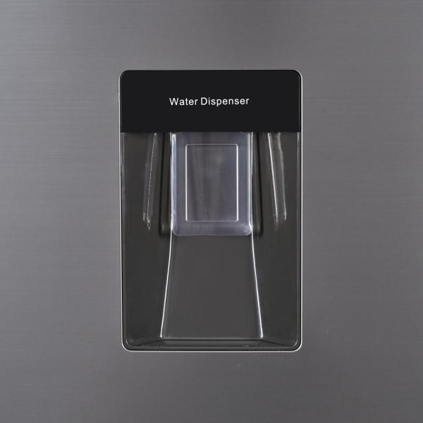 Combina frigorifica Heinner HC-H273XWD+, 267 l, Dozator de apa, Clasa A+, H 176 cm, Inox