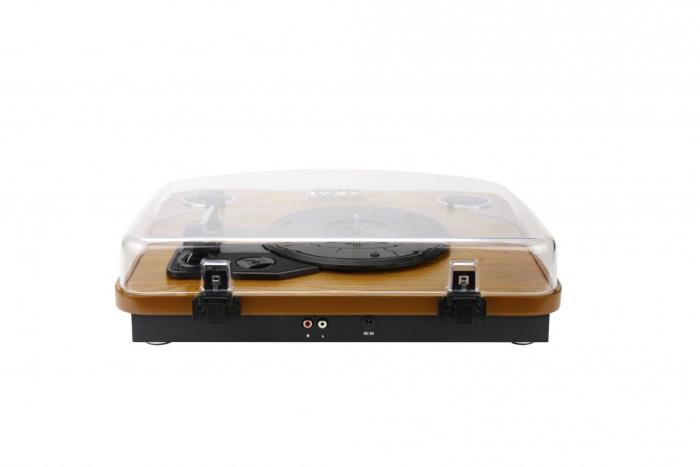 Pick-up AKAI ATT-11BT, stereo, difuzoare incorporate, Bluetooth, RCA, USB, SD Card 2