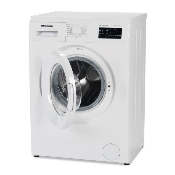 Masina de spalat rufe Heinner HWM-6010VA++, 6kg, 1000 RPM, Clasa A++, Ecran LED, Functie start intarziat, Sistem Eco Logic, 60 cm, Alb 2