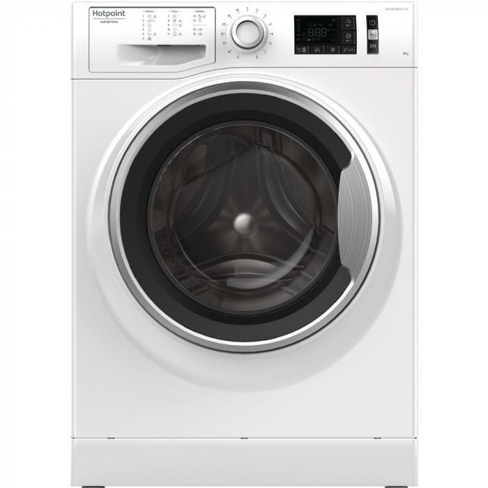 Masina de spalat rufe Hotpoint NM11 845 WS A EU, ActiveCare, 8kg, 1400rpm, Clasa A+++, alb 0