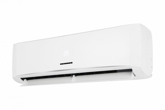 Aparate de aer conditionat HEINNER 12000 BTU, kit instalare inclus, clasa A++, functie iFeel, functie Quiet, timer, auto restart, HAC-HS12KIT++, alb [0]