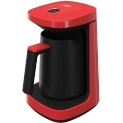 Aparat Cafea Turceasca BEKO TKM2940K, 0.26l, 600W, Rosu-Negru 0