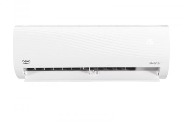Aparat de aer conditionat Beko 12000 BTU,kit instalare inclus, Clasa A++, Functie incalzire, 2 filtre densitate mare, filtru Silver Ion, Bio filtru, Zone Follow, R32, BRVPG120 0