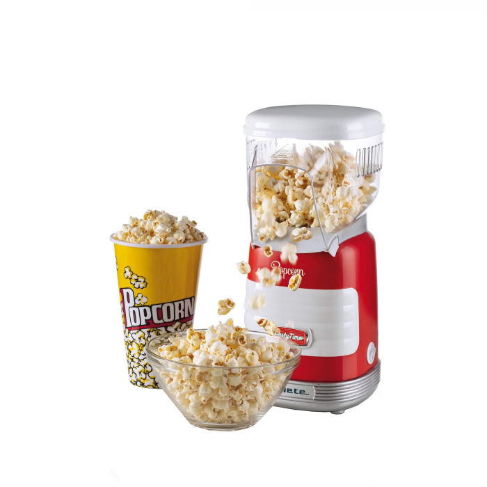 Aparat popcorn Party Time 2956 Ariete, 1100W, 60 gr, Rosu [2]
