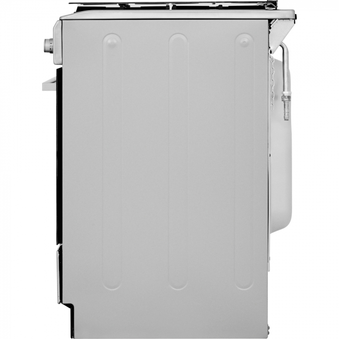 Aragaz Whirlpool WS5G8CHX/E, Mixt, 4 arzatoare, Gratar fonta, Aprindere electrica, Cuptor electric, 57 L, Autocuratare hidrolitica, 50 cm, Inox [5]