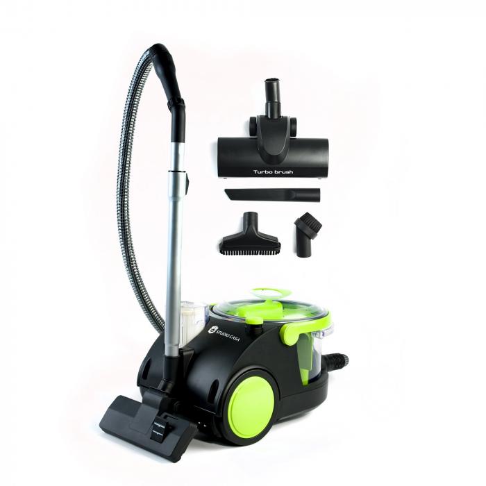 Aspirator cu filtrare in apa Studio Casa Hydratech Turbo, 850 W, Filtru Hepa, Perie Turbo [2]