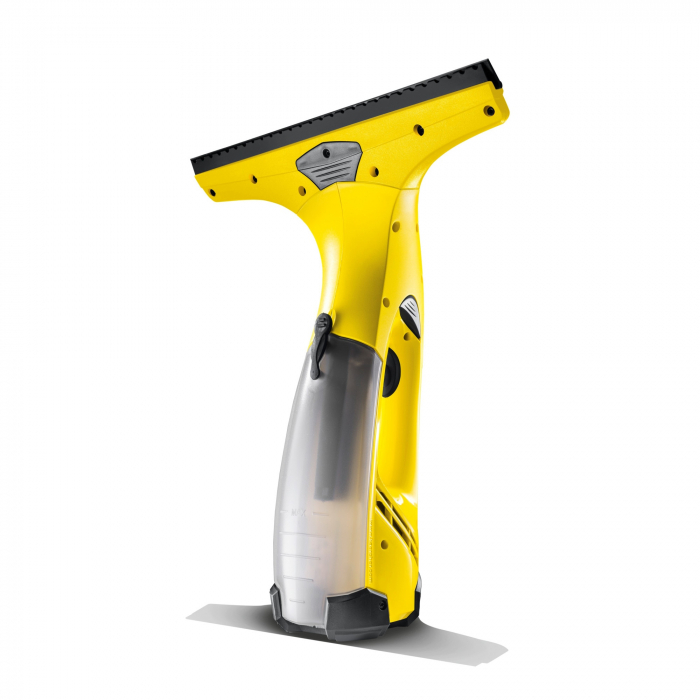Aspirator de geamuri Karcher WV Easy Plus, 60 mp, 20 geamuri, Flacon de pulverizare 250 ml, Rezervor apa 100 ml, Galben [1]