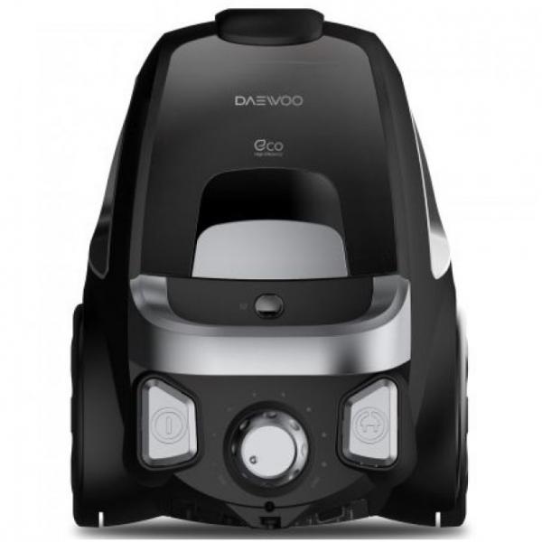 Aspirator fara sac Daewoo RCC-230B/3A, 800 W, 2.5L, Tub telescopic din metal, Negru 0