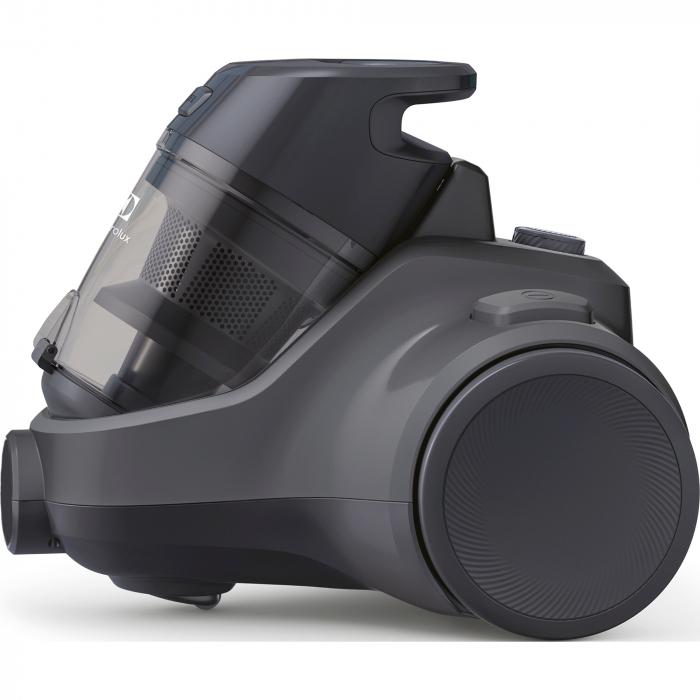 Aspirator fara sac Electrolux Ease C4 3A EC41-4T, 700 W, Clasa A, 1.8 L, Filtre lavabile, Perie parchet, Negru 2
