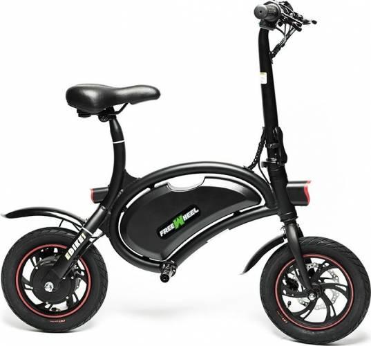 Bicicleta electrica FreeWheel Ebike 1, Baterie LG, viteza 30 Km/h, Autonomie 40-50 km, Motor 250W, Roti 12 inch, Negru 2