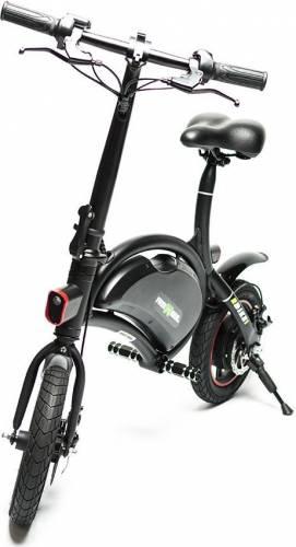 Bicicleta electrica FreeWheel Ebike 1, Baterie LG, viteza 30 Km/h, Autonomie 40-50 km, Motor 250W, Roti 12 inch, Negru 4