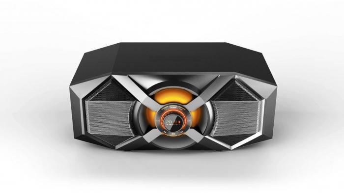 Boxa Audio Portabila Akai , Putere Totala 240 W , Conectare prin Functia Bluetooth , Port USB 2.0 , Intrare Auxiliara 3.5 mm , Alimentare prin Acumulator USB , Culoare Negru 0