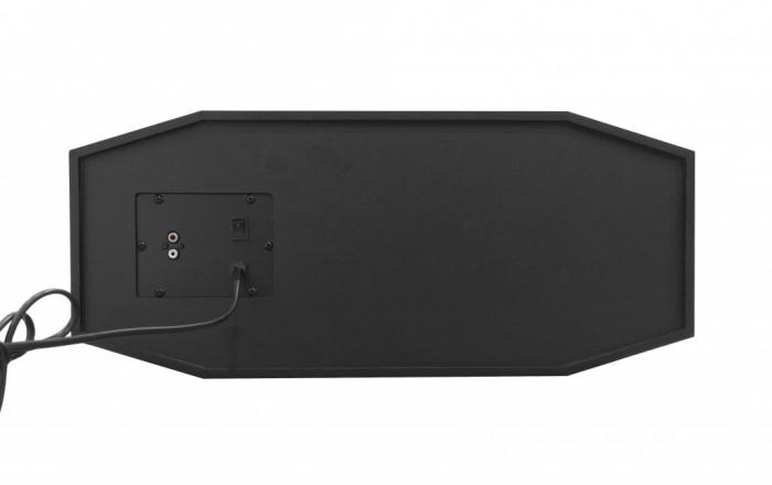 Boxa Audio Portabila Akai , Putere Totala 240 W , Conectare prin Functia Bluetooth , Port USB 2.0 , Intrare Auxiliara 3.5 mm , Alimentare prin Acumulator USB , Culoare Negru 1