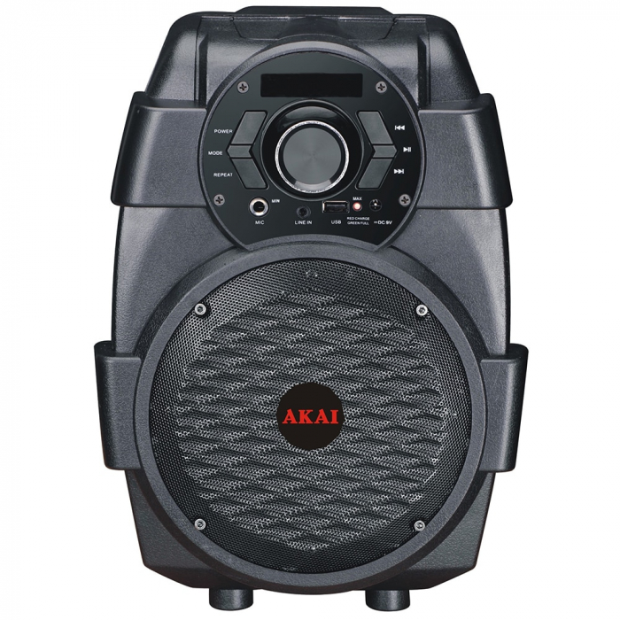Boxa portabila AKAI ABTS-806, Bluetooth, Negru 0