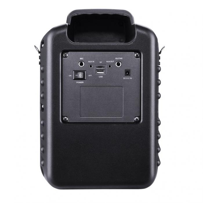 Boxa portabila Akai ABTS-I6 cu BT, lumini disco, app control, baterie 1800 mAH 3