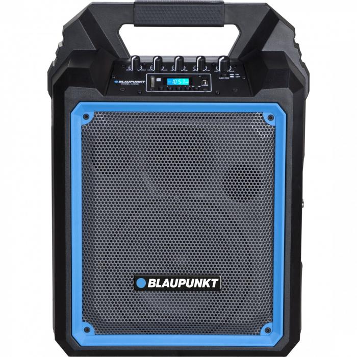 Boxa portabila Blaupunkt, MB06, Bluetooth, FM/SD/USB/AUX/KARAOKE, 500W 0