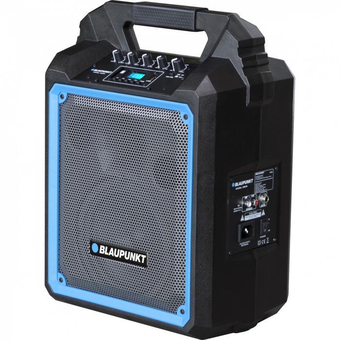 Boxa portabila Blaupunkt, MB06, Bluetooth, FM/SD/USB/AUX/KARAOKE, 500W 1