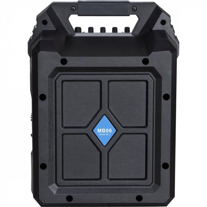 Boxa portabila Blaupunkt, MB06, Bluetooth, FM/SD/USB/AUX/KARAOKE, 500W 2
