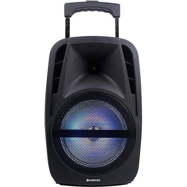 Boxa portabila cu microfon Wireless VORTEX VO2605, Bluetooth, USB, Radio FM, negru [0]
