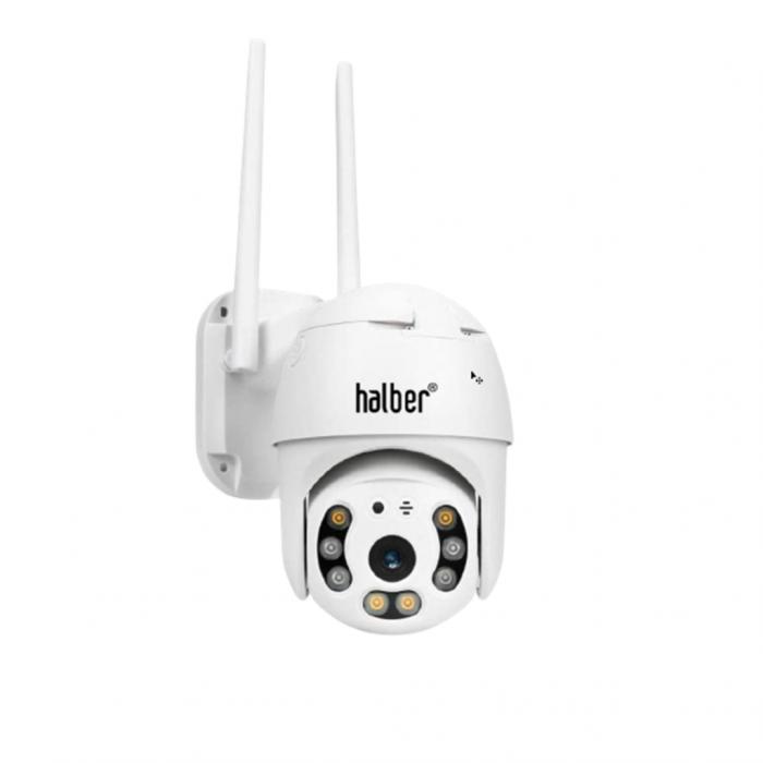 Camera Halber® Smart IP Exterior/Interior cu vorbire bidirectionala [0]