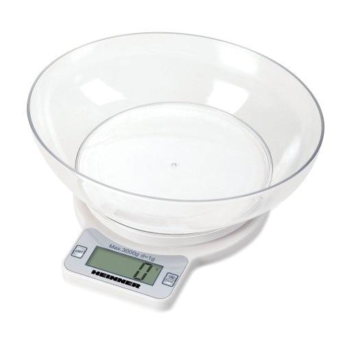 Cantar de bucatarie Heinner Quick 3000, 3 kg, Alb 0