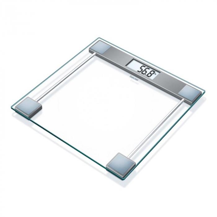Cantar de sticla Beurer GS11, display LCD, maxim 150 kg 0