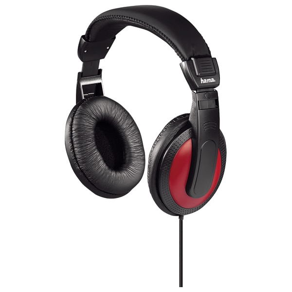 Casti EVO on ear Hama HK5618 cu adaptor jack 6.35mm inclus 0