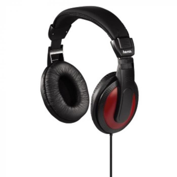 Casti EVO on ear Hama HK5618 cu adaptor jack 6.35mm inclus 1