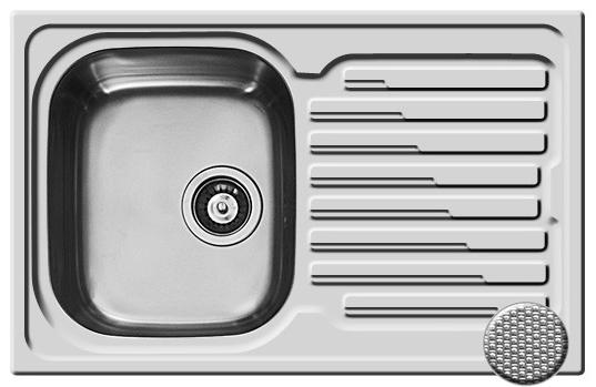 Chiuveta Inox AMALTIA 790mm*500mm [0]